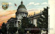 cap001355 - Sacramento, Cal. California, USA United States State Capital Building Postcard Post Card
