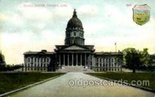 cap001356 - Topeka, Kan, USA United States State Capital Building Postcard Post Card
