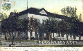 cap001389 - Pierre, South Dakota, SD State Capital, Capitals Postcard Post Card USA