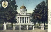 cap001390 - Montpelier, Vermont, VT State Capital, Capitals Postcard Post Card USA