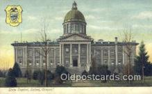 cap001393 - Salem, Oregon, OR  State Capital, Capitals Postcard Post Card USA