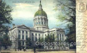 cap001396 - Atlanta, Georgia, GA State Capital, Capitals Postcard Post Card USA