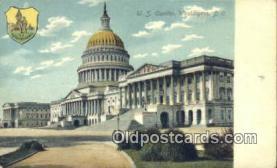 cap001398 - Washington DC State Capital, Capitals Postcard Post Card USA