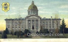 cap001405 - Salem, Oregon, OR  State Capital, Capitals Postcard Post Card USA