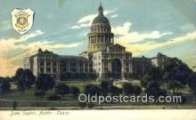 cap001407 - Austin, Texas, TX State Capital, Capitals Postcard Post Card USA