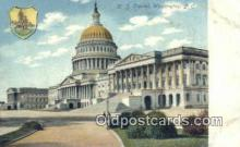 cap001415 - Washington DC State Capital, Capitals Postcard Post Card USA
