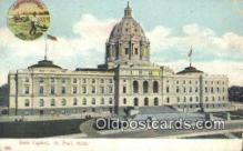 cap001423 - St Paul, Minnesota, MN  State Capital, Capitals Postcard Post Card USA