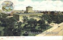 cap001430 - Columbus, Ohio, OH  State Capital, Capitals Postcard Post Card USA