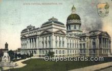 cap001434 - Indianapolis, Indiana, IN State Capital, Capitals Postcard Post Card USA