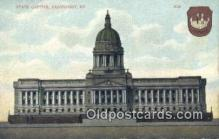 cap001439 - Frankfort, Kentucky, KY State Capital, Capitals Postcard Post Card USA