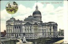 cap001450 - Indianapolis, Indiana, IN State Capital, Capitals Postcard Post Card USA