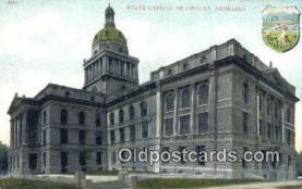 cap001458 - Lincoln, Nebraska, NE  State Capital, Capitals Postcard Post Card USA