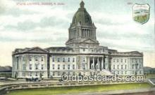 cap001461 - Pierre, South Dakota, SD State Capital, Capitals Postcard Post Card USA