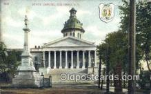cap001465 - Columbia, South Carolina, SC State Capital, Capitals Postcard Post Card USA