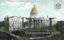 cap001470 - Madison, Wisconsin, WI State Capital, Capitals Postcard Post Card USA