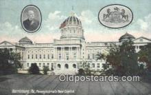 cap001477 - Harrisburg, Pennsylvania, PA  State Capital, Capitals Postcard Post Card USA