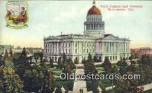 cap001478 - Sacramento, California, CA  State Capital, Capitals Postcard Post Card USA