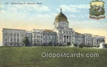 cap001483 - Helena, Montana, MT  State Capital, Capitals Postcard Post Card USA