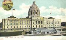 cap001486 - St Paul, Minnesota, MN  State Capital, Capitals Postcard Post Card USA