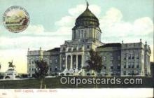 cap001488 - Helena, Montana, MT  State Capital, Capitals Postcard Post Card USA
