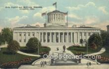 cap001495 - Columbus, Ohio, OH  State Capital, Capitals Postcard Post Card USA