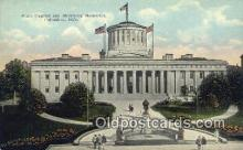 cap001496 - Columbus, Ohio, OH  State Capital, Capitals Postcard Post Card USA