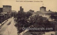 cap001498 - Columbus, Ohio, OH  State Capital, Capitals Postcard Post Card USA