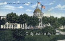 cap001503 - Montgomery, Alabama, AL  State Capital, Capitals Postcard Post Card USA