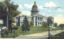cap001505 - Denver, Colorado, CO State Capital, Capitals Postcard Post Card USA