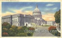 cap001507 - Washington DC State Capital, Capitals Postcard Post Card USA