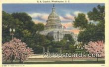 cap001509 - Washington DC State Capital, Capitals Postcard Post Card USA