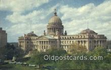 cap001517 - Jackson, Mississippi, MS State Capital, Capitals Postcard Post Card USA