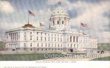 cap001522 - St Paul, Minnesota, MN  State Capital, Capitals Postcard Post Card USA