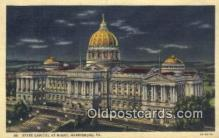 cap001534 - Harrisburg, Pennsylvania, PA  State Capital, Capitals Postcard Post Card USA