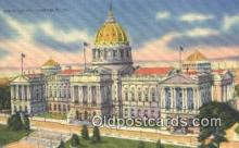 cap001537 - Harrisburg, Pennsylvania, PA  State Capital, Capitals Postcard Post Card USA