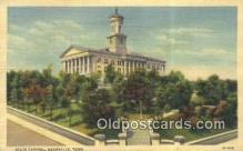 cap001542 - Nashville, Tennessee, TN State Capital, Capitals Postcard Post Card USA
