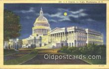 cap001544 - Washington DC State Capital, Capitals Postcard Post Card USA