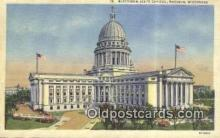 cap001547 - Madison, Wisconsin, WI State Capital, Capitals Postcard Post Card USA
