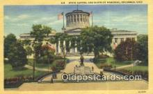 cap001554 - Columbus, Ohio, OH  State Capital, Capitals Postcard Post Card USA