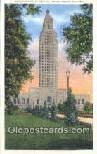 cap001555 - Baton Rouge, Louisiana, LA  State Capital, Capitals Postcard Post Card USA
