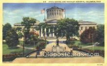 cap001557 - Columbus, Ohio, OH  State Capital, Capitals Postcard Post Card USA