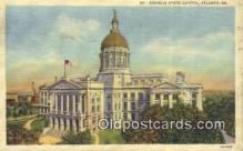 cap001559 - Atlanta, Georgia, GA State Capital, Capitals Postcard Post Card USA