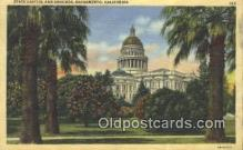 cap001560 - Sacramento, California, CA  State Capital, Capitals Postcard Post Card USA