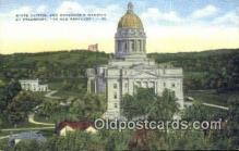 cap001563 - Frankfort, Kentucky, KY State Capital, Capitals Postcard Post Card USA