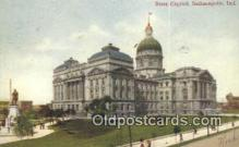 cap001566 - Indianapolis, Indiana, IN State Capital, Capitals Postcard Post Card USA