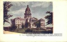 cap001568 - Denver, Colorado, CO State Capital, Capitals Postcard Post Card USA