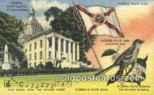 cap001571 - Tallahassee, Florida, FL State Capital, Capitals Postcard Post Card USA