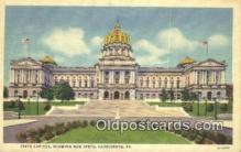 cap001575 - Harrisburg, Pennsylvania, PA  State Capital, Capitals Postcard Post Card USA