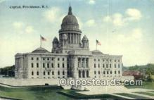 cap001576 - Providence, Rhode Island, RI State Capital, Capitals Postcard Post Card USA