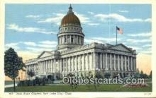 cap001577 - Salt Lake City, Utah, UT  State Capital, Capitals Postcard Post Card USA
